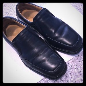 Bruno Magli men's black leather shoes. Ashton 10